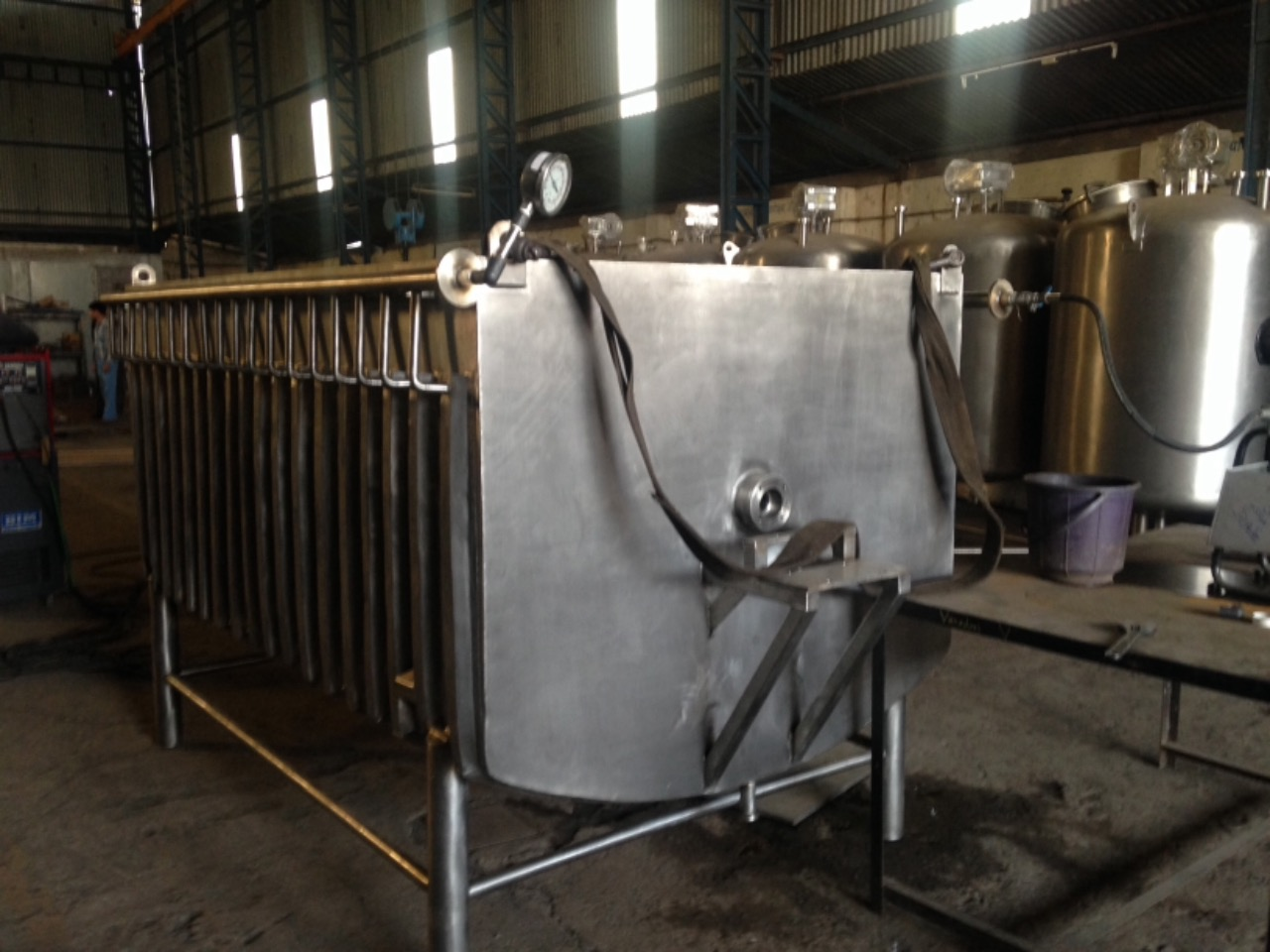 Corrugated Jacketed Tanks manufacturer and fabrication in